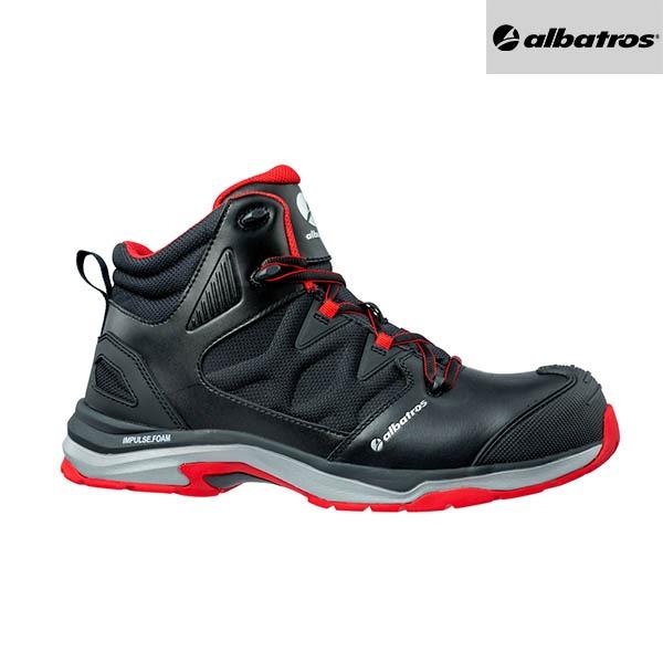 Chaussures de sécurité Albatros - ULTRATRAIL BLACK MID