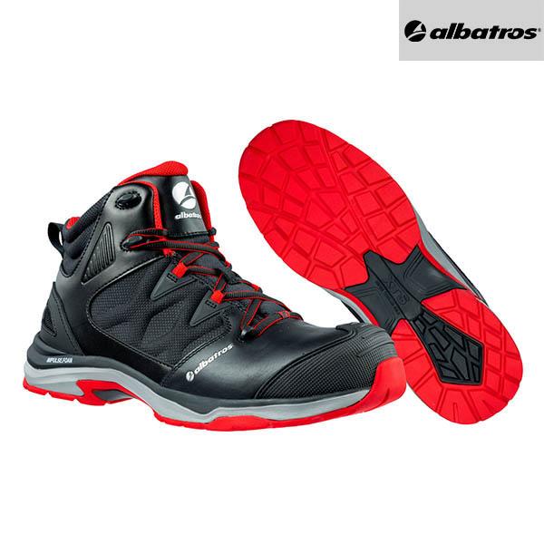 Chaussures de sécurité Albatros - Ultratrail Black Mid - Paire
