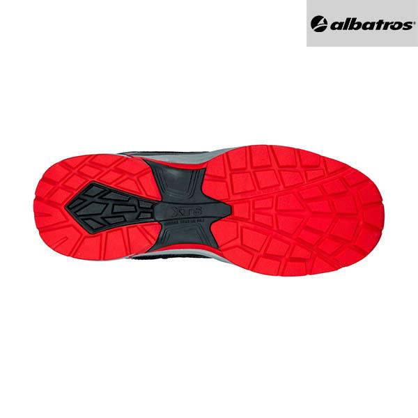 Chaussures de sécurité Albatros - Ultratrail Black Mid - Semelle
