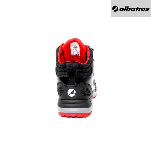 Chaussures de sécurité Albatros - Ultratrail Black Mid - Talon