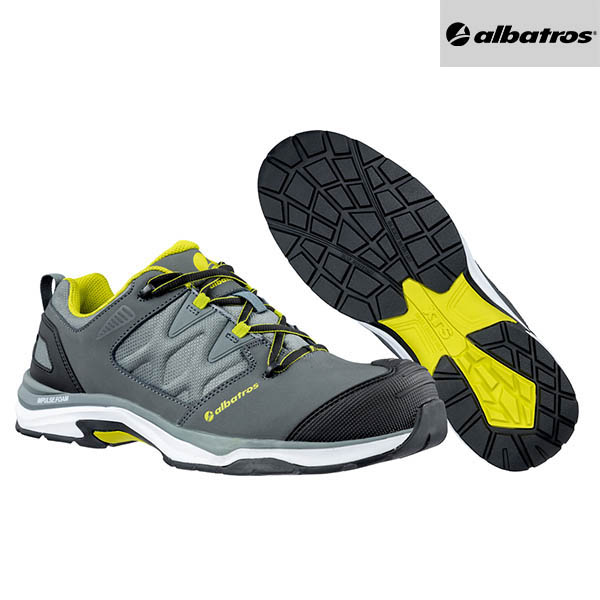 Chaussures de sécurité Albatros - Ultratrail Grey Low - Paire