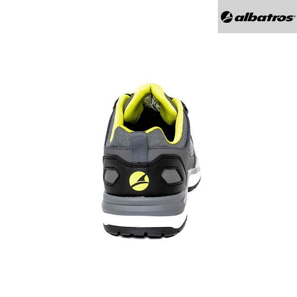 Chaussures de sécurité Albatros - Ultratrail Grey Low - Talon