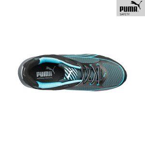 Chaussures de sécurité Femme Puma - Fuse Motion Blue - De Haut