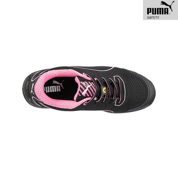 Chaussures de sécurité Femme Puma - Fuse TC Pink - De Haut