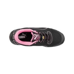 Chaussures de sécurité pour Femme PUMA - FUSE TC PINK de haut