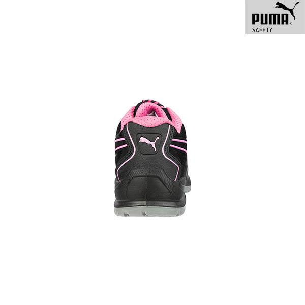 Chaussures de sécurité Femme Puma - Fuse TC Pink - Talon