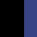 Noir et Bleu Roi