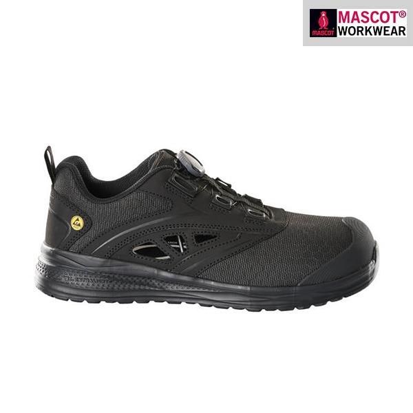 Sandales de sécurité Mascot - FOOTWEAR CARBON - Noir - Vue de côté