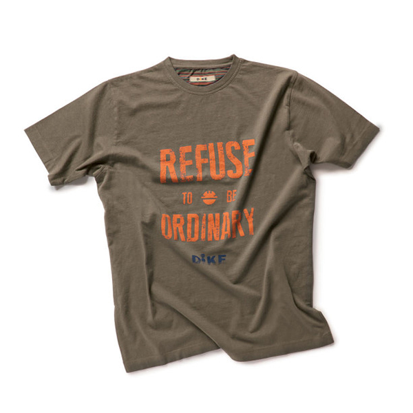 T-Shirt de travail Dike - TARGET mastic
