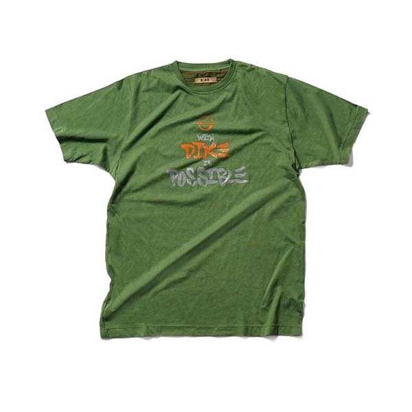 T-Shirt de travail Dike - TIP moss