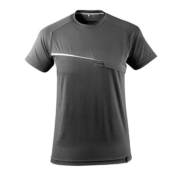 T-Shirt Mascot avec poche poitrine - ADVANCED gris foncé