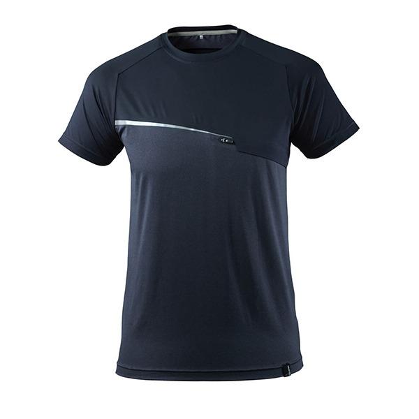 T-Shirt Mascot avec poche poitrine - ADVANCED marine foncé