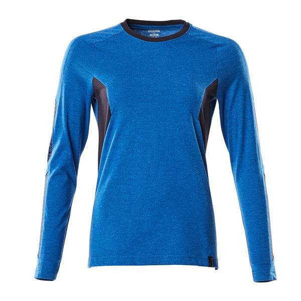 T-Shirt Mascot bicolore - ACCELERATE - Femme bleu olympien et marine foncé
