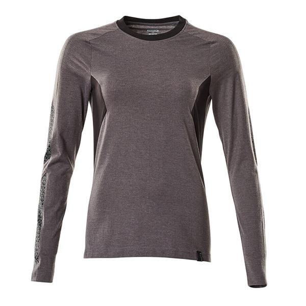 T-Shirt Mascot bicolore - ACCELERATE - Femme gris foncé et noir