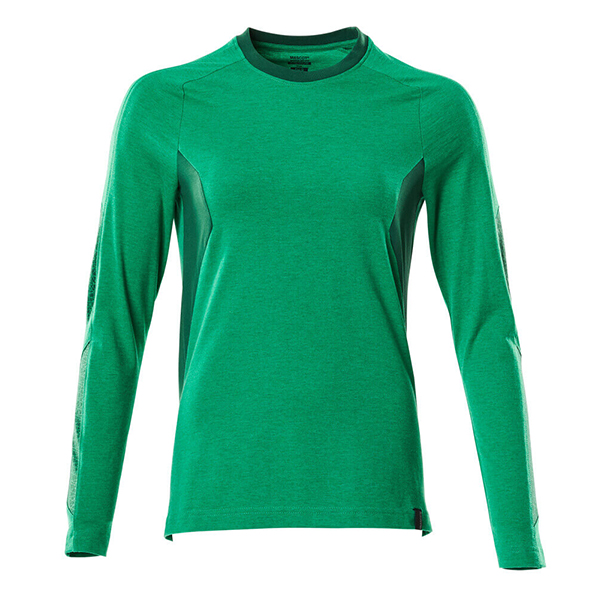 T-Shirt Mascot bicolore - ACCELERATE - Femme vert gazon et vert bouteille
