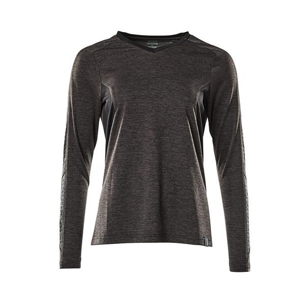 T-Shirt Mascot CoolMax Pro - ACCELERATE gris foncé et noir