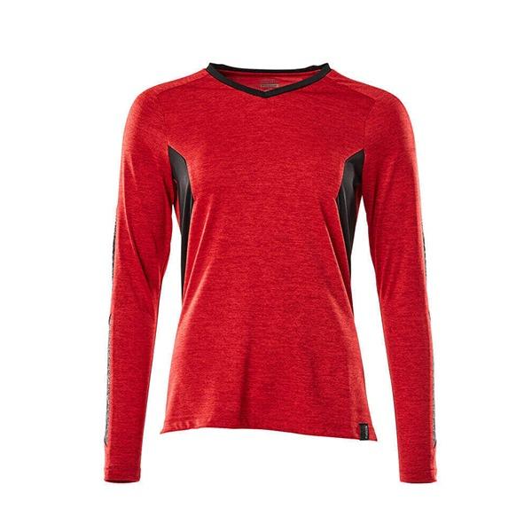 T-Shirt Mascot CoolMax Pro - ACCELERATE rouge trafic et noir