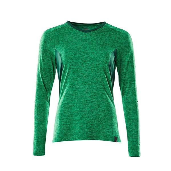 T-Shirt Mascot CoolMax Pro - ACCELERATE vert gazon et vert bouteille