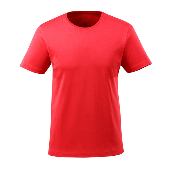 T-Shirt Mascot coupe étroite - CROSSOVER rouge trafic