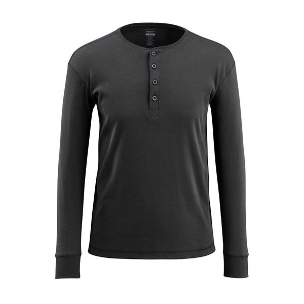 T-Shirt Mascot Coupe Étroite - Manches Longues - CROSSOVER noir