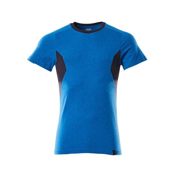 T-Shirt Mascot coupe moderne - ACCELERATE bleu olympien et marine foncé