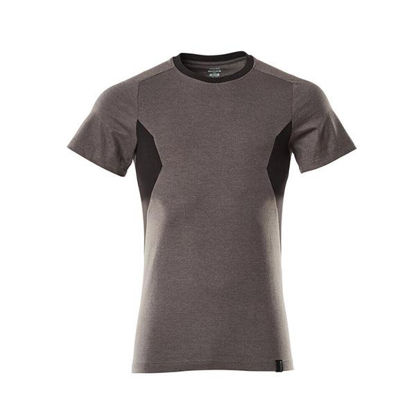 T-Shirt Mascot coupe moderne - ACCELERATE gris foncé et noir