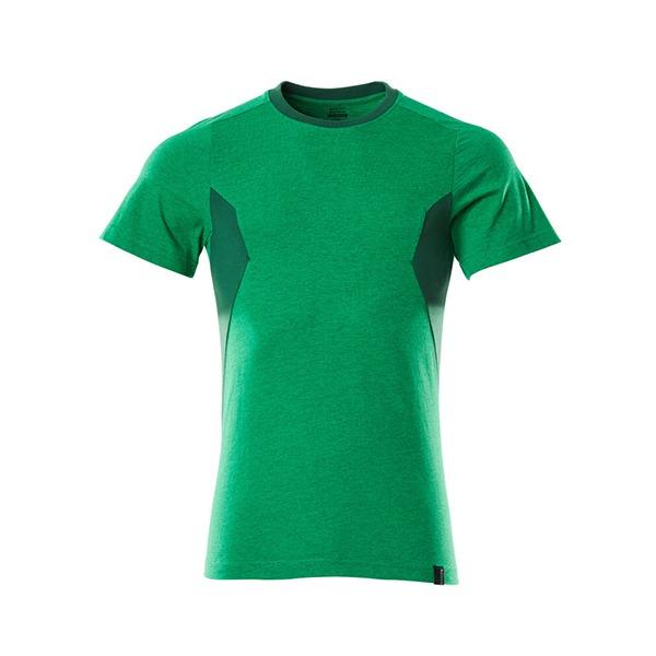 T-Shirt Mascot coupe moderne - ACCELERATE vert gazon et vert bouteille