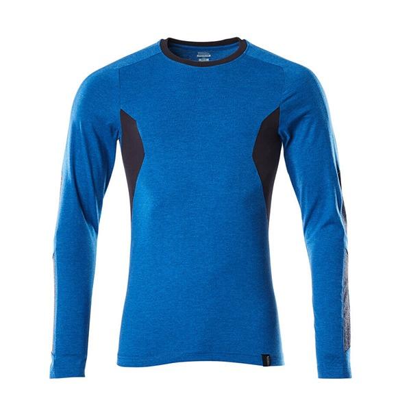 T-Shirt Mascot Coupe moderne - Manches longues - ACCELERATE bleu olympien et marine foncé