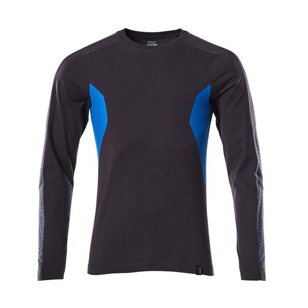 T-Shirt Mascot Coupe moderne - Manches longues - ACCELERATE marine foncé et bleu olympien