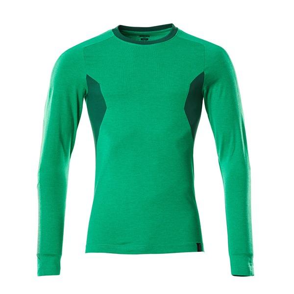 T-Shirt Mascot Coupe moderne - Manches longues - ACCELERATE vert gazon et vert bouteille