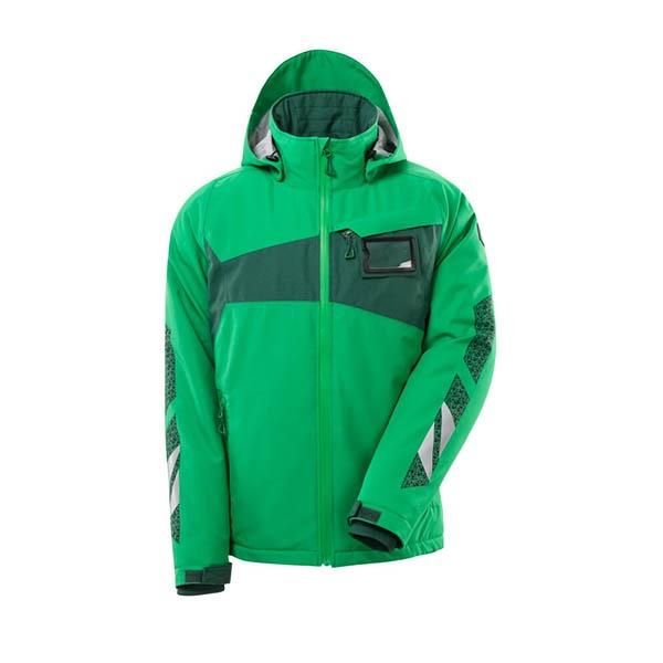 Veste de pluie Mascot - ACCELERATE vert gazon et vert bouteille
