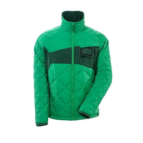 Veste Thermique Mascot - ACCELERATE vert gazon et vert bouteille