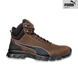 Chaussures de sécurité Puma - Condor Brown Mid S3 ESD SRC