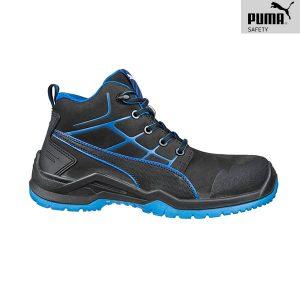 Chaussures de sécurité Puma - Krypton Blue Mid S3 ESD SRC