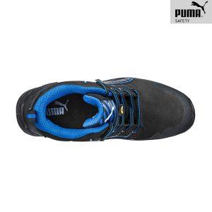 Chaussures de sécurité Puma - Krypton Blue Mid S3 ESD SRC - Dessus
