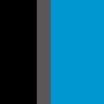 Noir/Anthracite foncé/Bleu turquoise