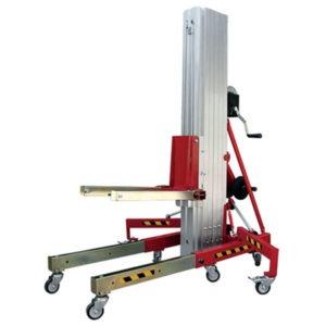 Gerbeur élévateur positionneur manuel - Capacité de 200 à 400 Kg