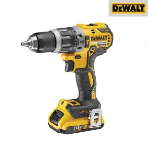 Kit Perceuse visseuse à percussion Dewalt 2x2 18V Xr Brushless - DCD796D2