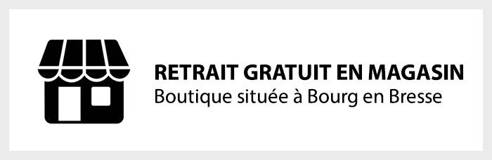 Retirez vos commandes gratuitement en magasin (Bourg en Bresse)