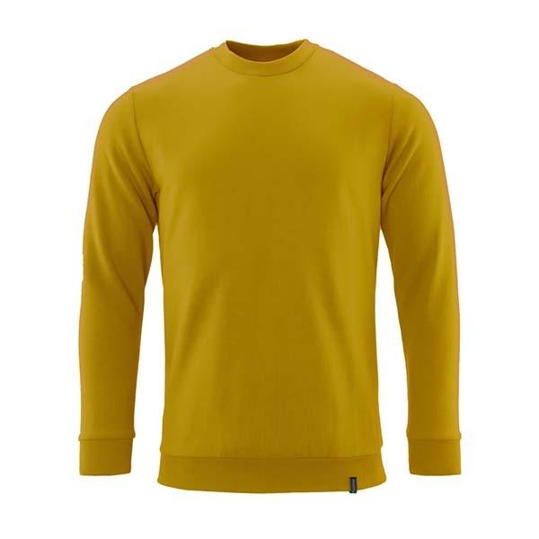 Sweatshirt de travail Prowash - CROSSOVER jaune curry