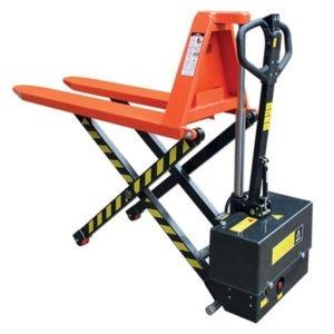 Transpalette haute-levée électrique - Capacité de 1000 ou 1500kg