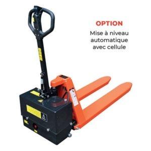 Transpalette haute-levée électrique - Capacité de 1000 ou 1500kg option