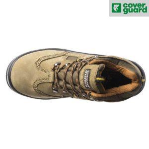 Chaussures de sécurité Coverguard Hautes S1P - Emerald - Vue de dessus