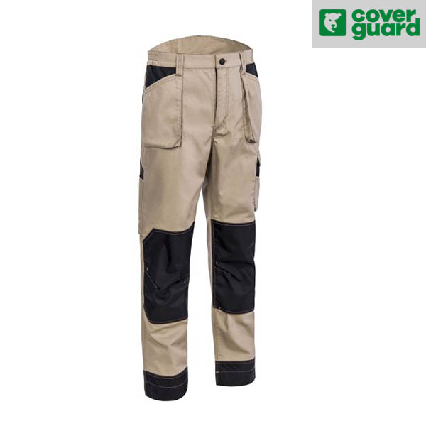 Pantalon de travail avec poches genouillères Coverguard - OROSI