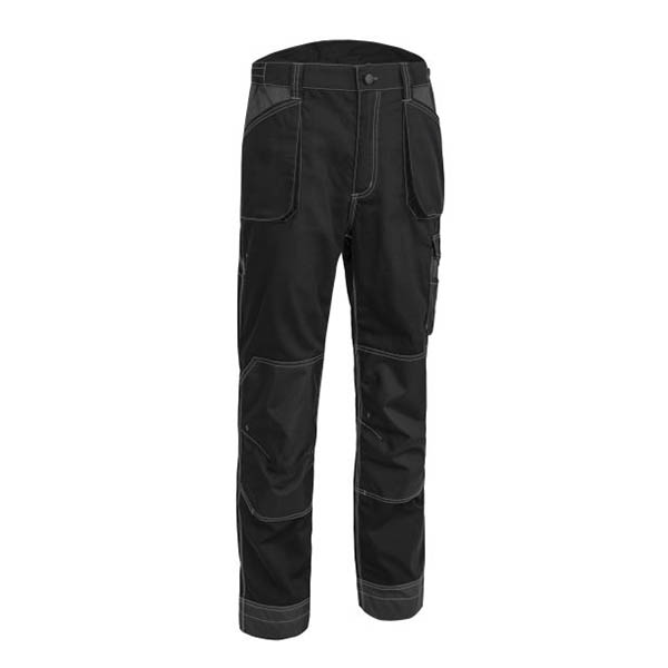 Pantalon de travail avec poches genouillères Coverguard - OROSI noir