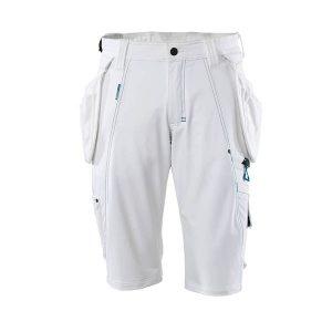 Short De Travail Mascot Avec Poches Flottantes | ADVANCED blanc