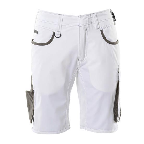 Short Mascot Bicolore | UNIQUE blanc et gris foncé