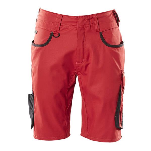 Short Mascot Bicolore | UNIQUE rouge et noir