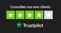 Les avis client sur le site de Truspilot