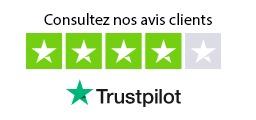 Consultez les avis de nos clients sur Truspilot